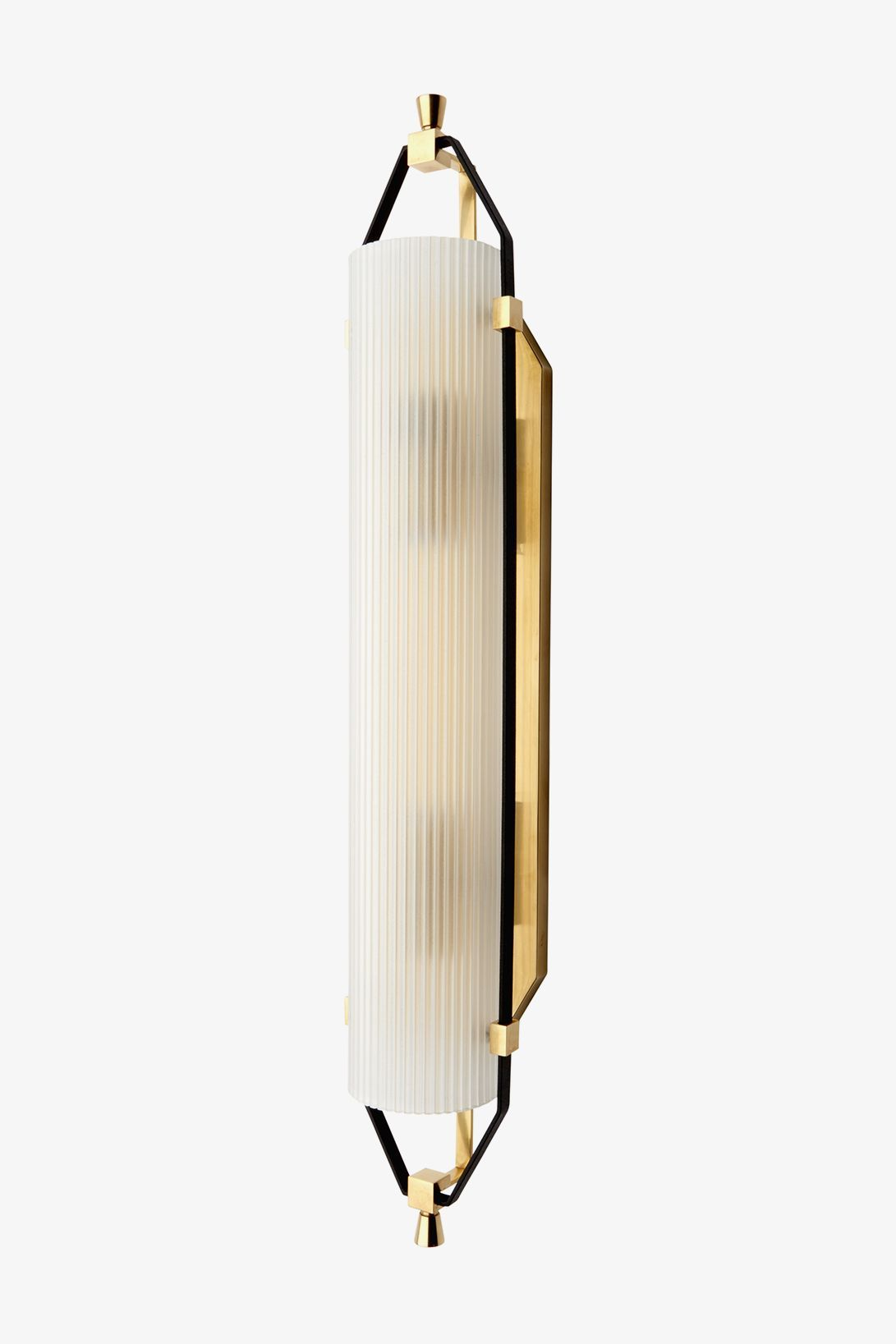 Addair Wall Mounted Double Sconce With Glass Shade In 2020