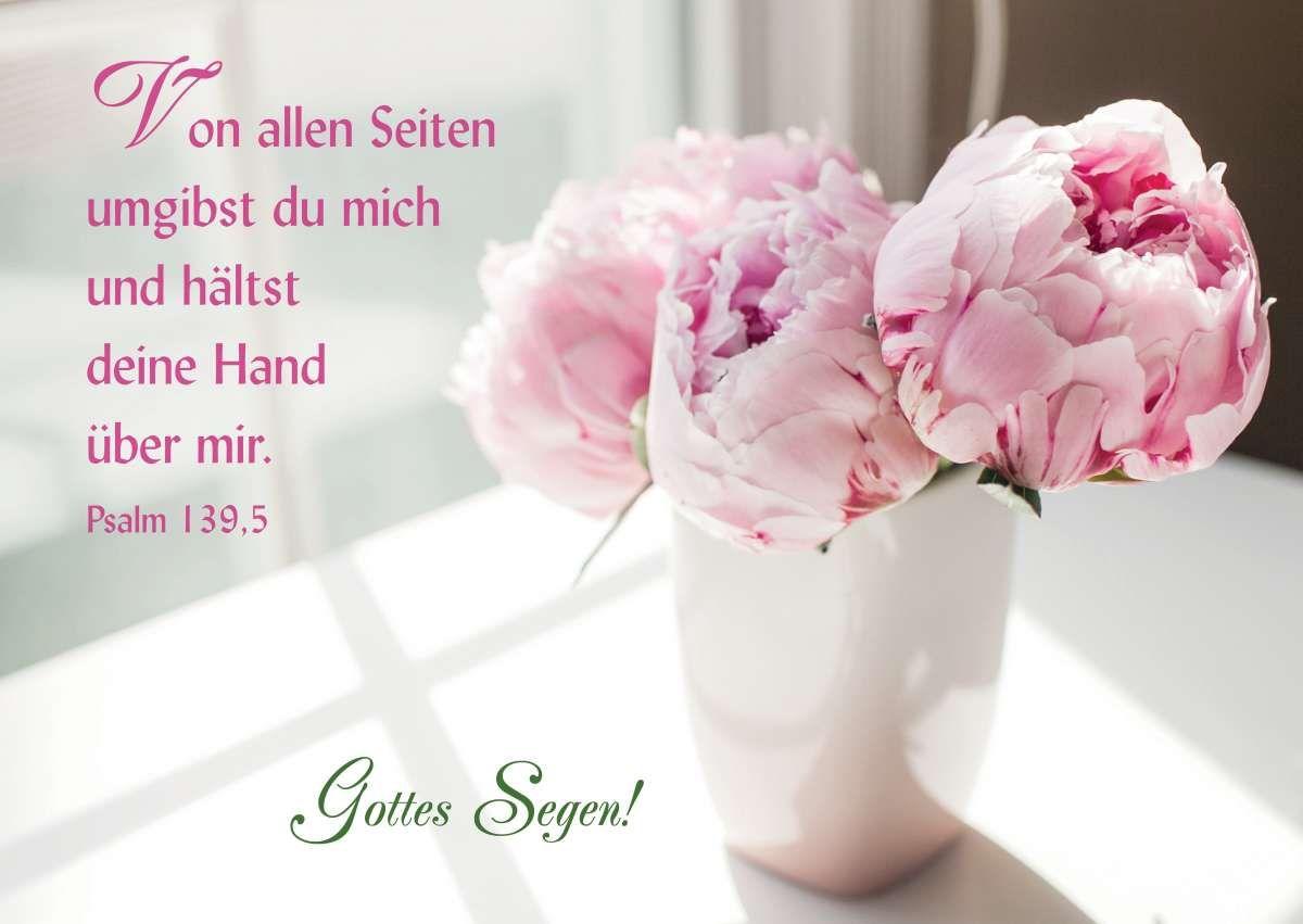Postkarte Gottes Segen Psalmen Bibelverse Segen Und Gottes