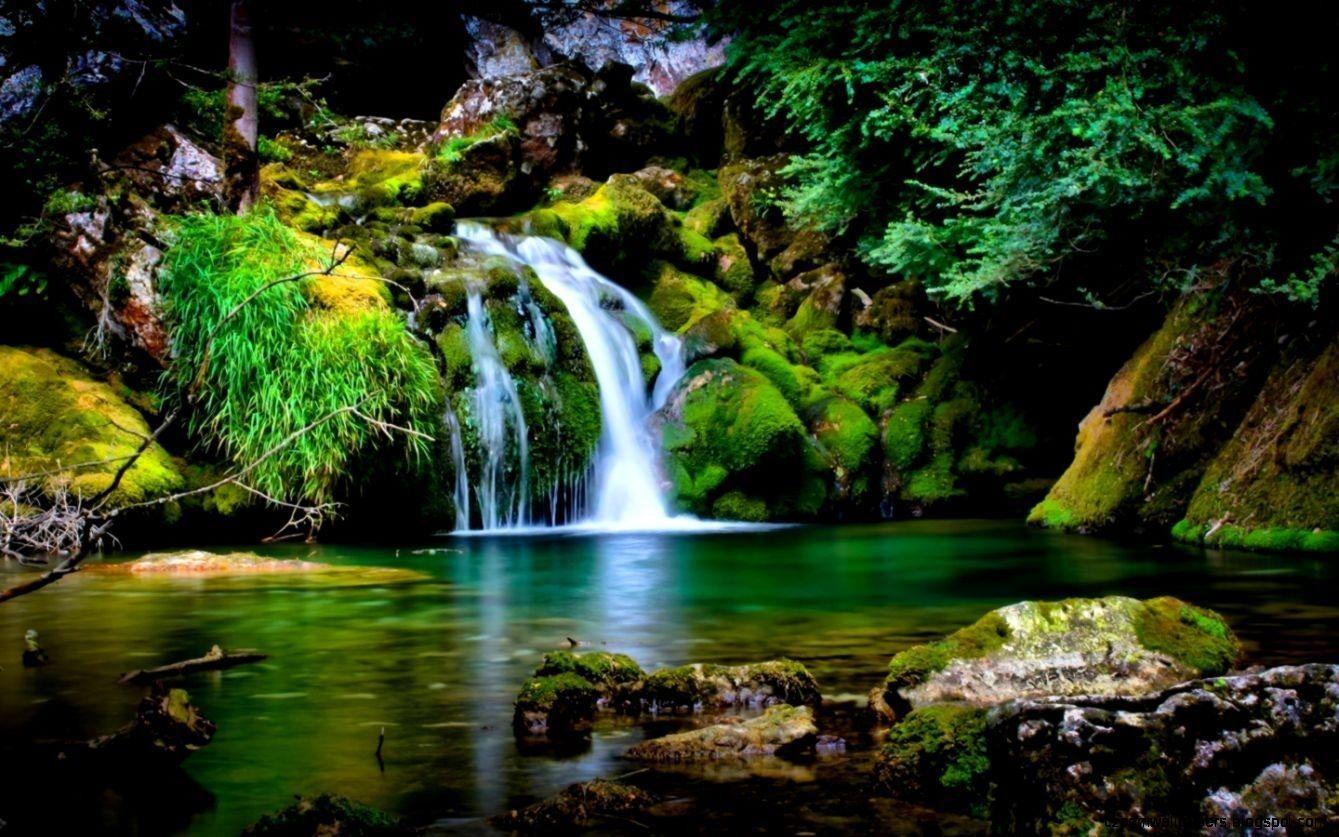 10 Best Free Wallpaper For Laptop Windows 7 Full Hd 1920 1080 For Pc Background Waterfall Scenery Waterfall Wallpaper Beautiful Nature Wallpaper