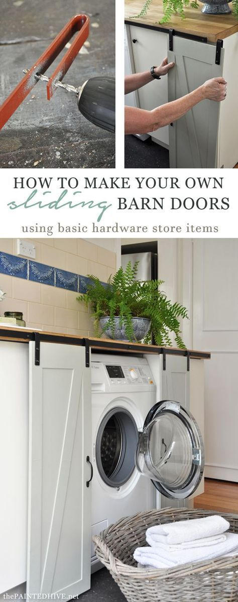 with just 10 worth of repurposed hardware anyone can totally make these diy sliding barn doorsliding