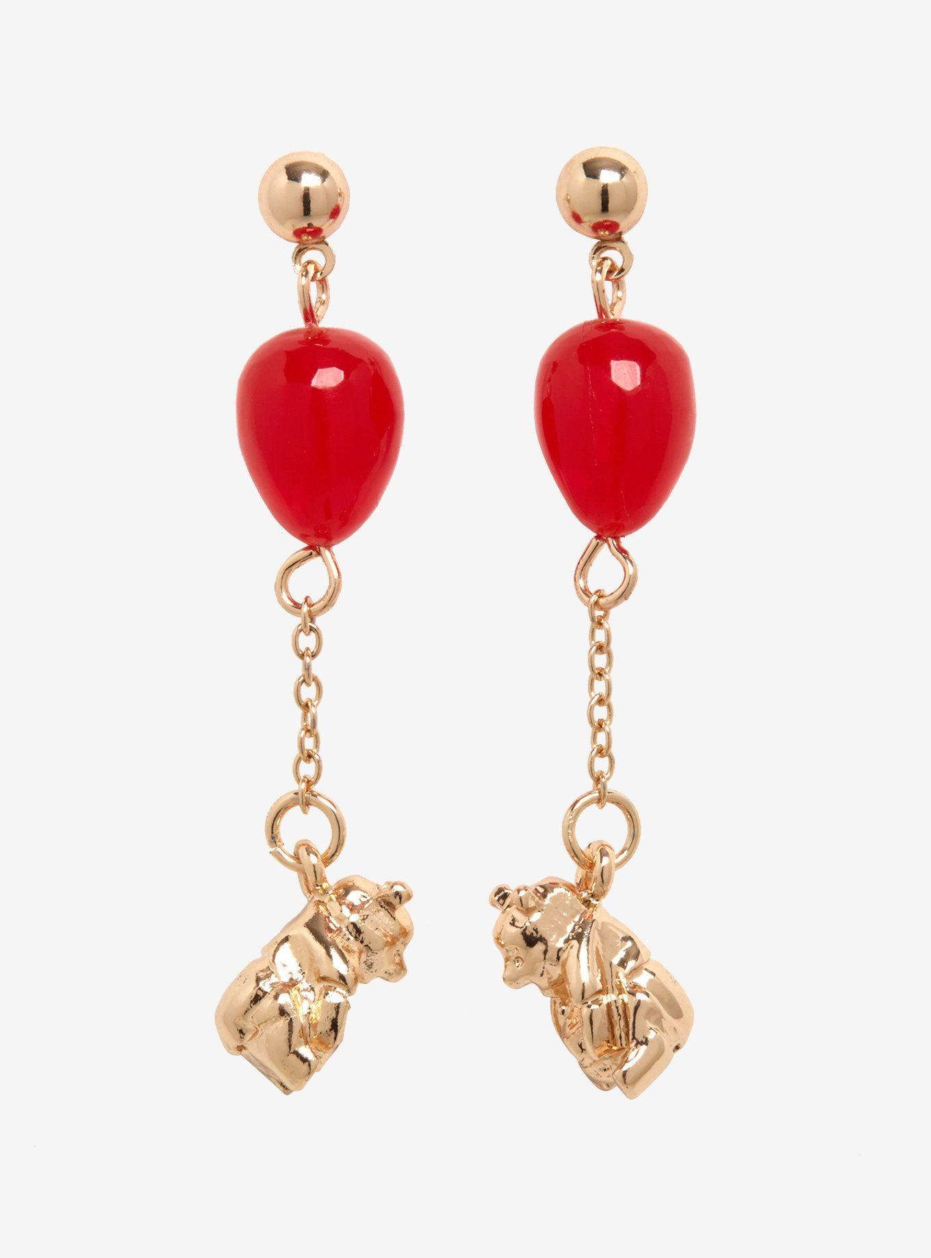 d65a756b0333f Disney Winnie The Pooh Balloon Resin Earrings in 2019   Earrings ...