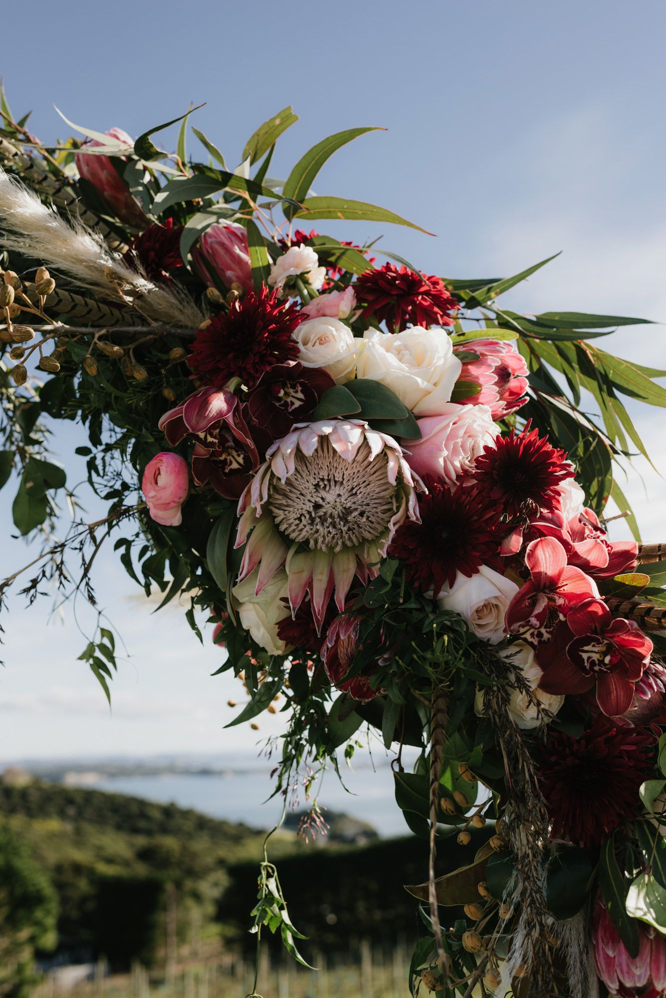 Wildflower Waiheke Wedding Gemma + Brett in 2020