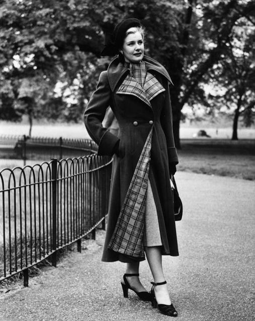 318cd0bd0ea 1940s Cold Weather Fashion  40s  coat  1940s  fashion  vintage  winter