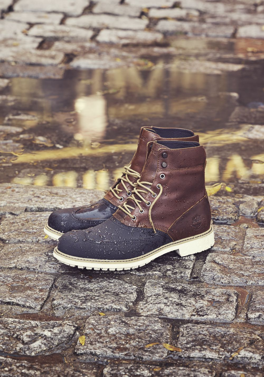 686b07dad9e Our Stormbuck Duck boot will keep your feet dry and in style with  seam-sealed, waterproof leather. #fallstyle #timberland #inmyelement  #fallcollection #fall ...