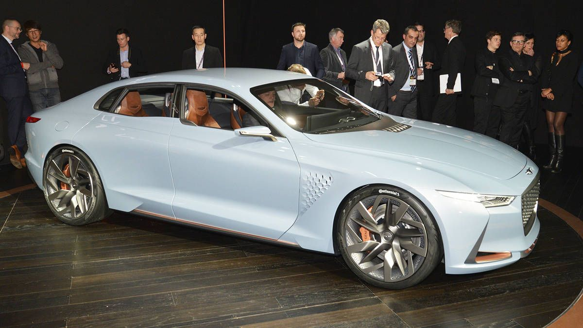 This Genesis concept hints at a 3Series fighter (With