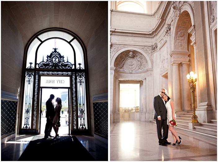 Real City Hall Wedding Rhianon Scott In San Francisco