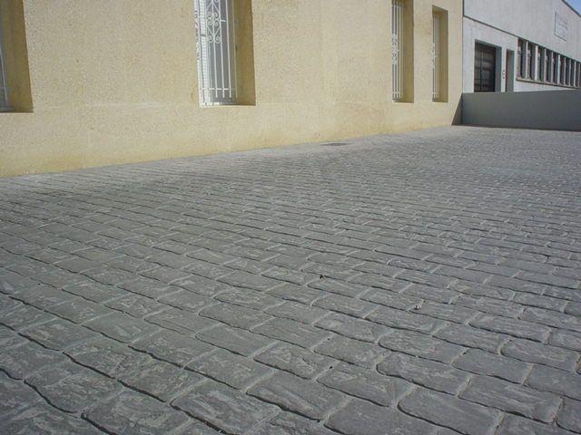 béton imprimé,béton coloré,produits béton,beton décoratif allee de - Dalle De Beton Exterieur
