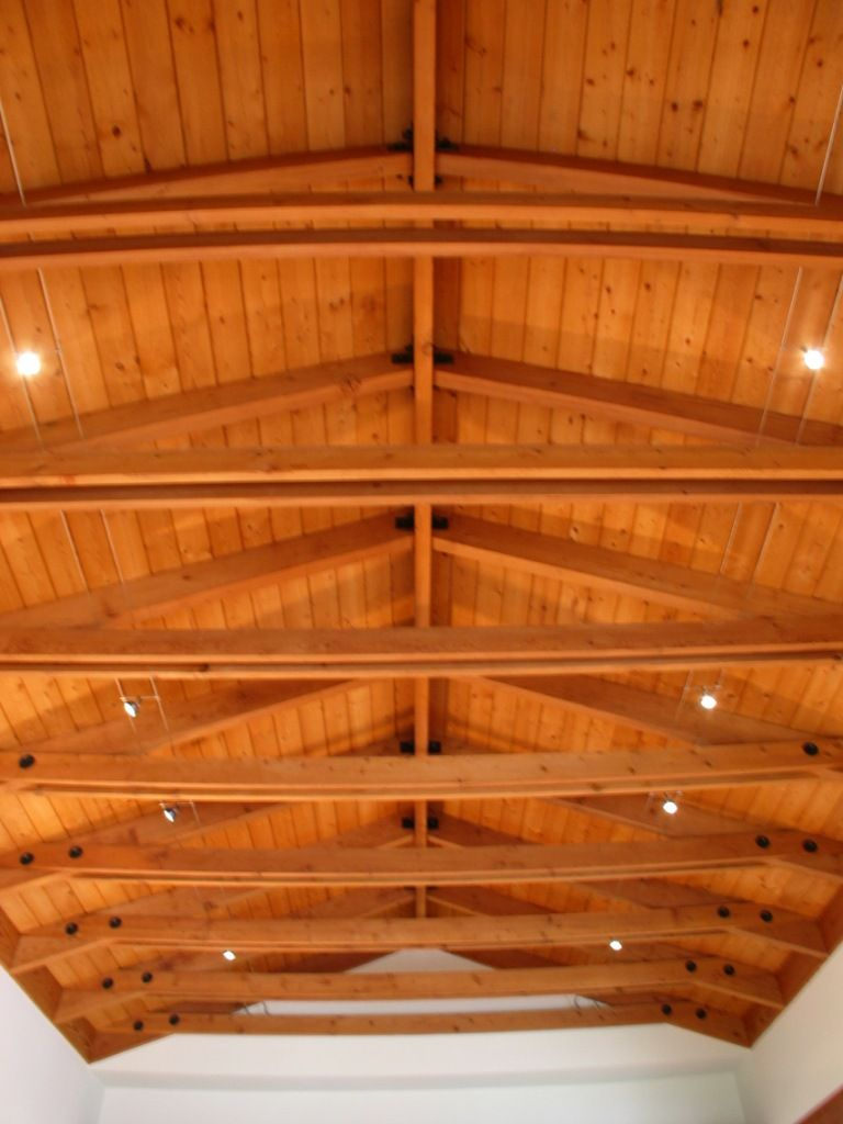 I don 39 t love this but i need options for our vaulted wood for Wood vaulted ceiling
