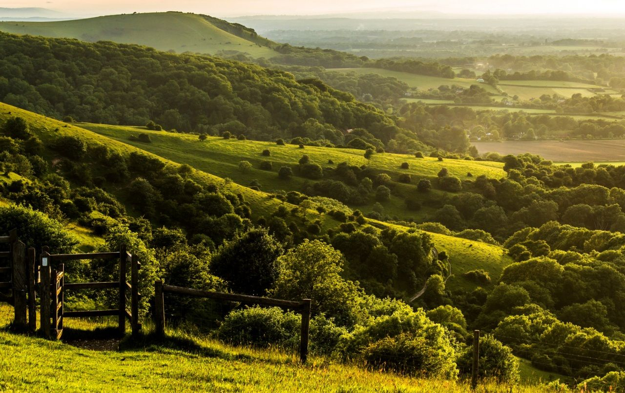 Scenery England United Kingdom Pyecombe West Sussex Nature Landscape Wallpaper New Nature Wallpaper Landscape Photos