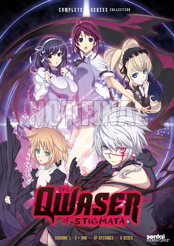 Qwaser Of Stigmata Dvd Complete Series Collection S Seasons   Ova