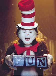Pin By Peninsula Public Library On From Page To Screen Cat In The Hat Movie Cat In The Hat Memes Cat In The Hat Party