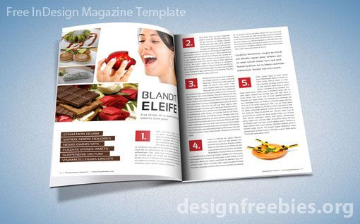 how to make magazine in indesign