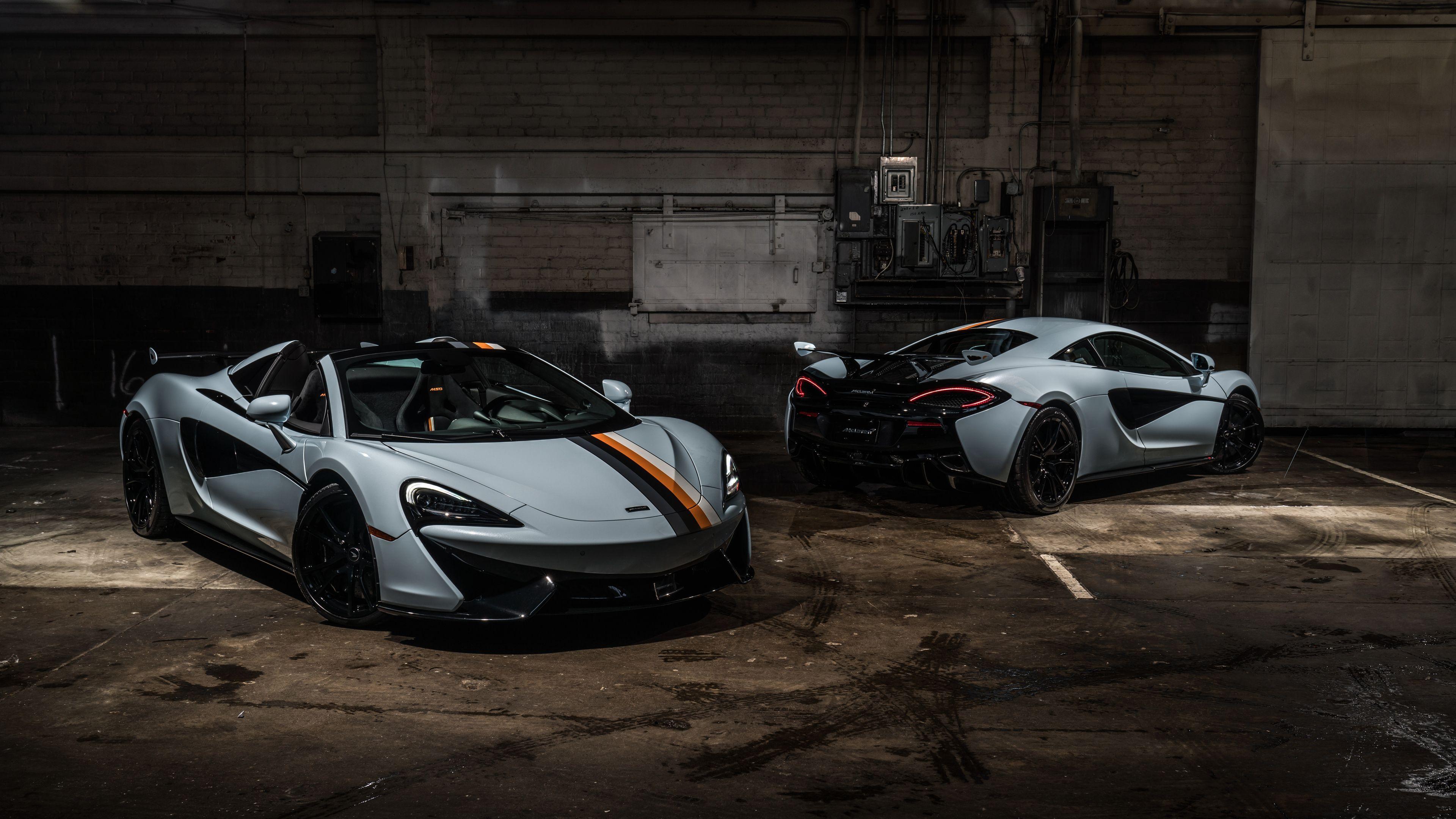 McLaren MSO 570S Spider and Coupe Muriwai 4k mclaren wallpapers, mclaren 570s sp…