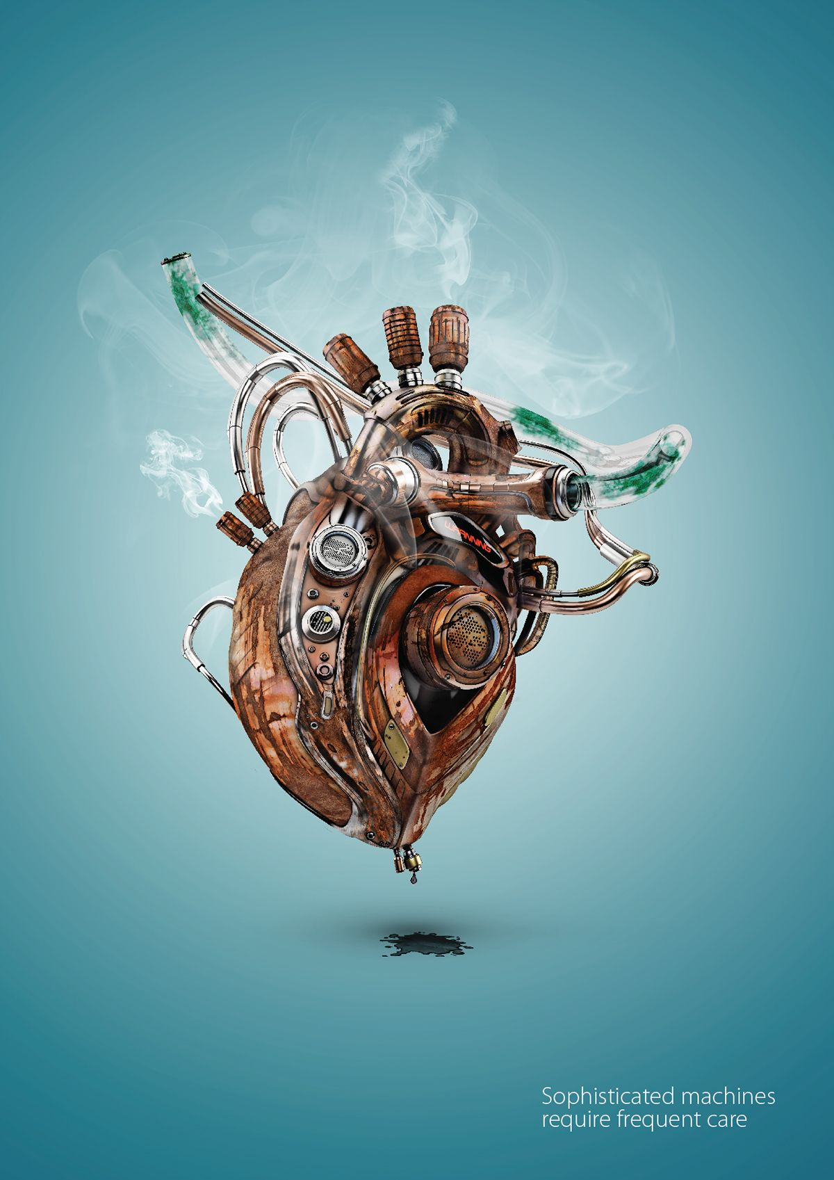 Heart Failur on Behance | CORAZONES | Pinterest | Corazón de oro ...