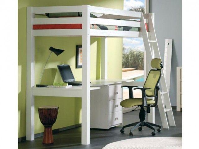 60 lits mezzanine pour gagner de la place - Elle Décoration   Room