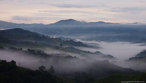 Amanecer Cuenca del Rio Piedras, La Union Antioquia