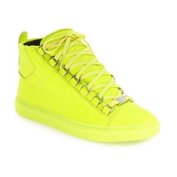 Womens Balenciaga High Top Sneaker ( 595) found on Polyvore featuring womens  fashion 3bf21bae12