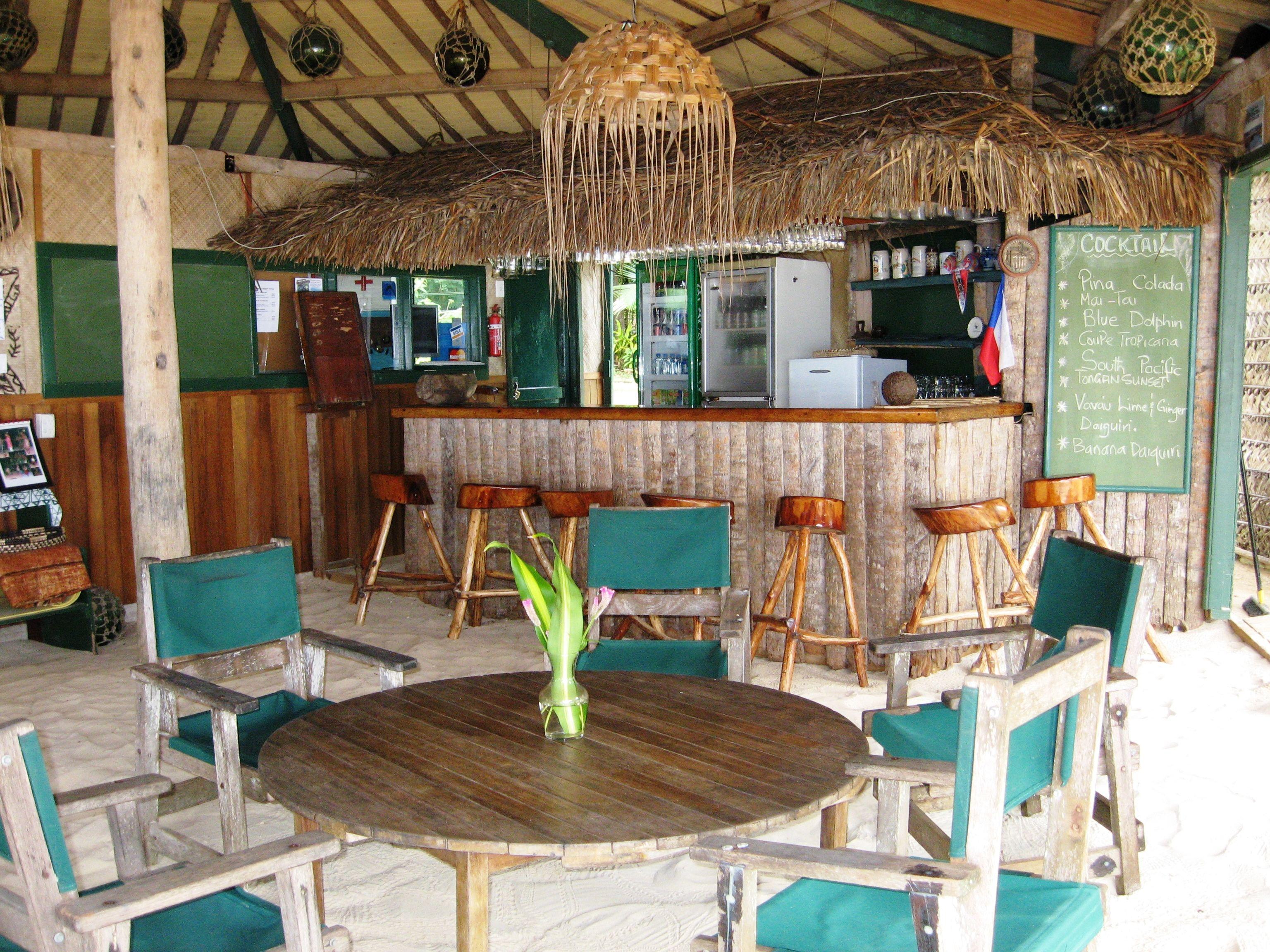 Tongan Beach Resort Bar