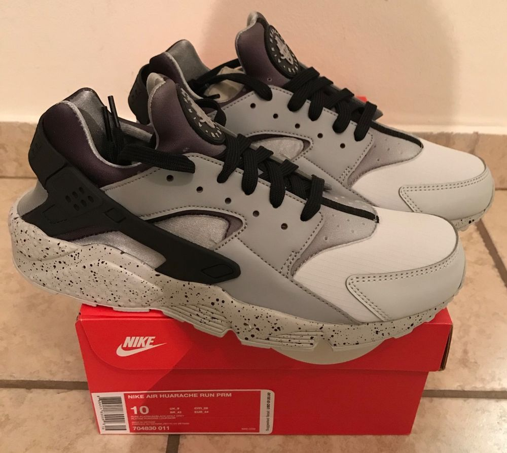 new style 562ed f1d8f Nike Air Huarache Run PRM - Men s Size 10 - Pure Platinum Wolf Grey  704830-011  fashion  clothing  shoes  accessories  mensshoes  athleticshoes  (ebay link)