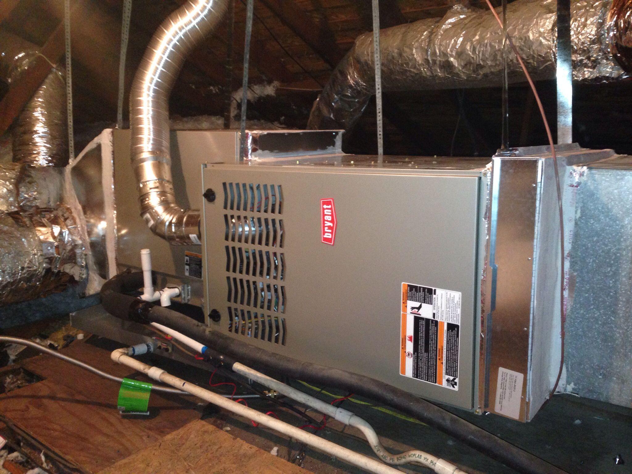 Bryant 80 Gas Furnace Install Furnace Installation Hvac