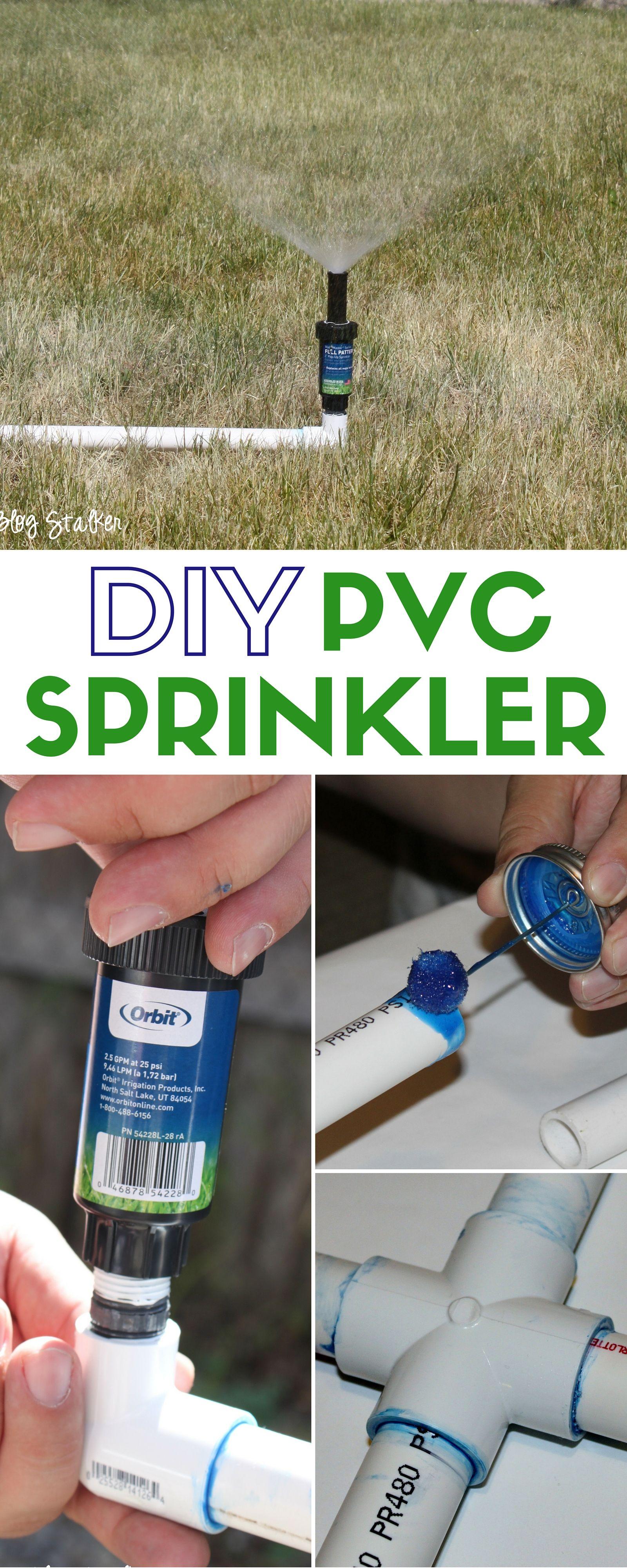 Diy Above Ground Sprinkler System