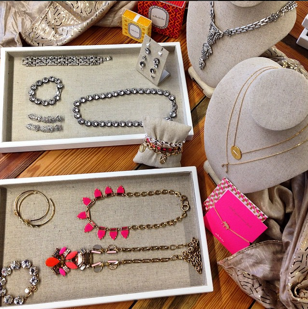 Birds-eye view. Want all this gorgeousness in your house? Book a trunk show today. #sdtrunkshow