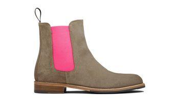 size 40 9dfff 8d051 Women's Grey Chelsea Boots - Bruna | Scarosso | Damen Schuhe ...