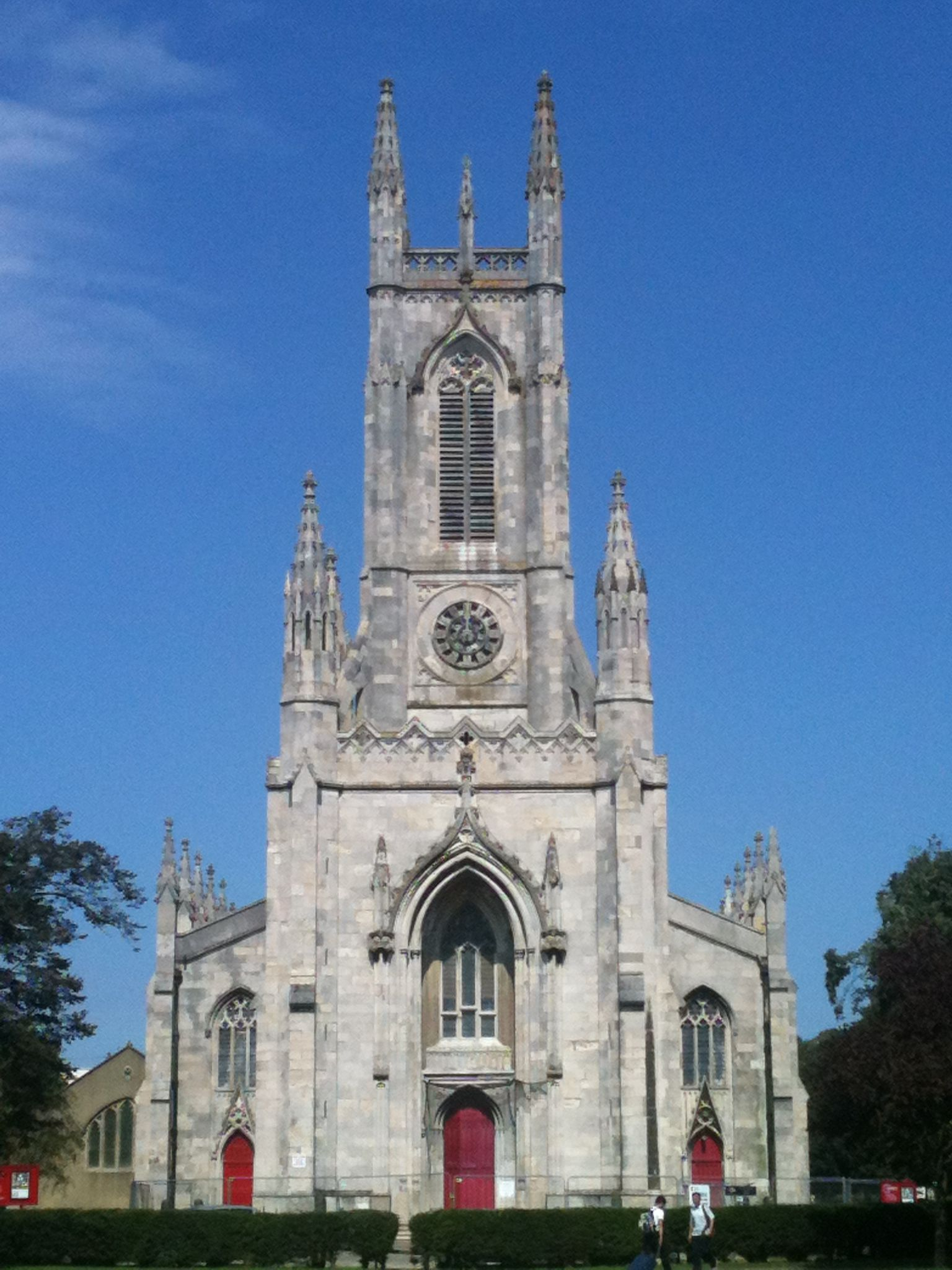 St Peter's Church in Brighton, Sussex. Known as Brighton's