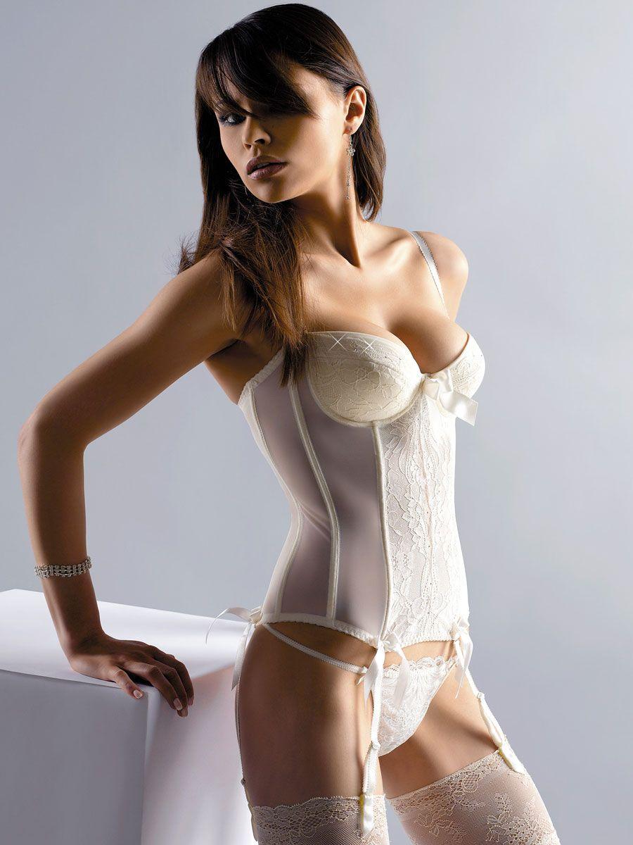 Undergarments for lace wedding dress  CRYSTAL BRIDAL UNDERWEAR BASQUE dingheart