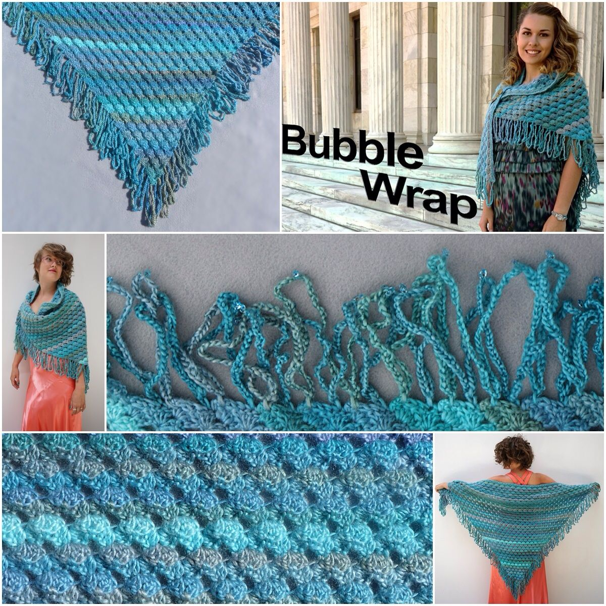 Karen ballards bubble wrap shawl in red heart boutique karen ballards bubble wrap shawl in red heart boutique unforgettable can be dressy or bankloansurffo Choice Image