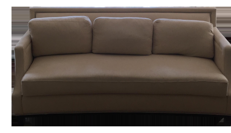 Beige Sofa by Sherrill Furniture
