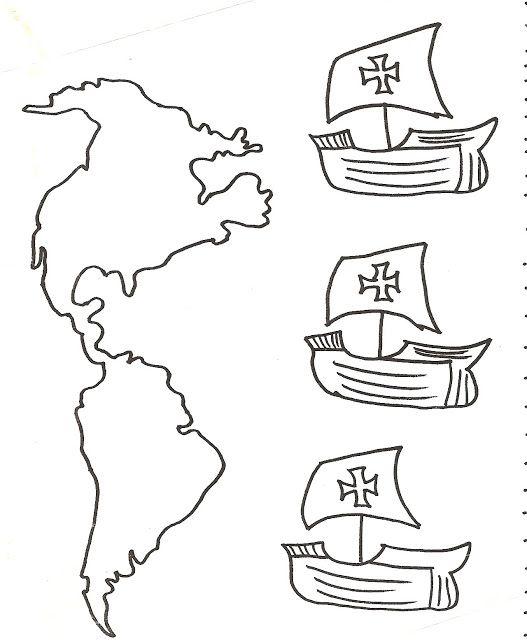 Los Duendes Y Hadas De Ludi Día De La Hispanidad Carabelas De Cristobal Colon Cristobal Colon Para Niños Las Carabelas De Colon