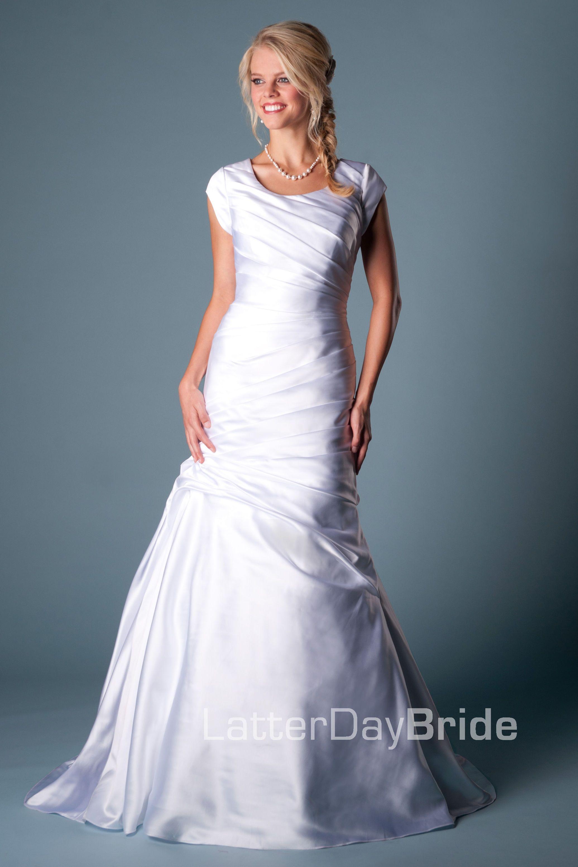 Modest Wedding Dress, Aria LatterDayBride & Prom. Modest