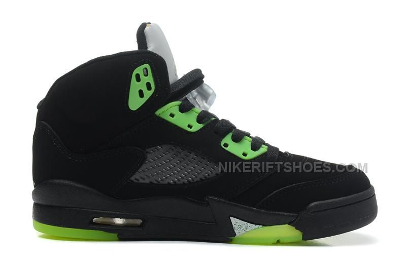 "hot sales 181ba 6cffb http   www.nikeriftshoes.com air-jordan-5-retro-quai-54-blackradiant-green -for-sale.html AIR JORDAN 5 RETRO ""QUAI 54″ BLACK RADIANT GREEN FOR SALE  Only ..."