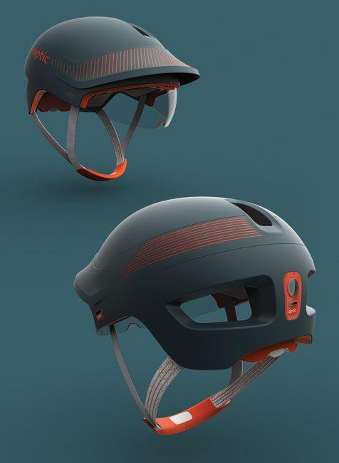 Optic Red Dot Design Award For Design Concepts Bicycle Helmets Design Helmet Design Bike Design