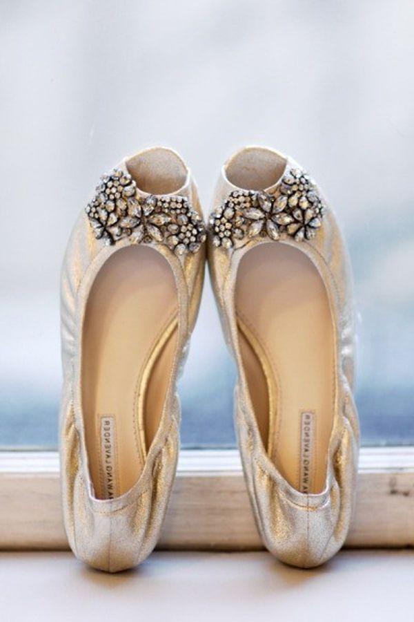 Vera Wedding Shoes Flats