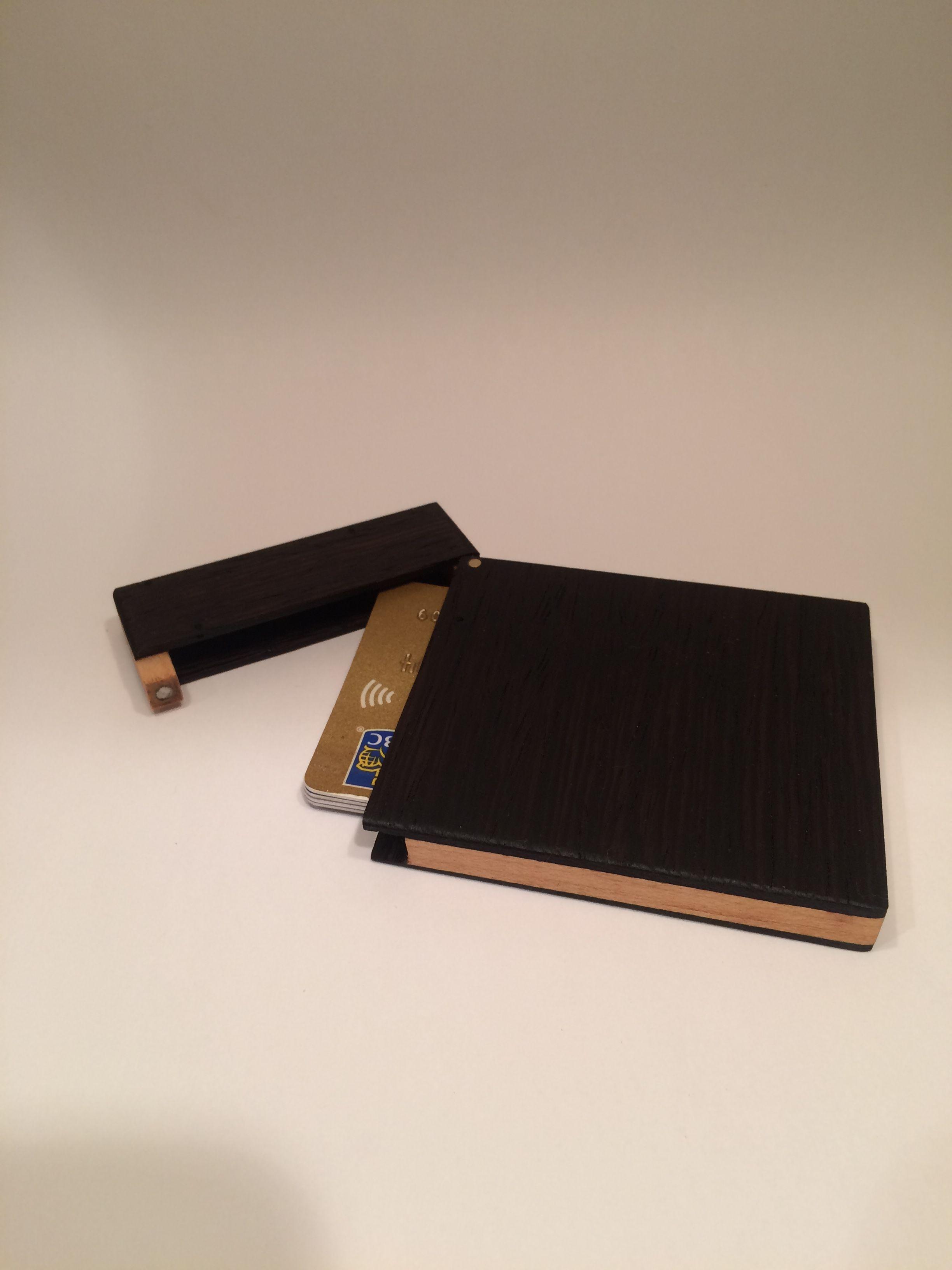 Wood wallet - mens wallet - business card holder - wood card holder ...