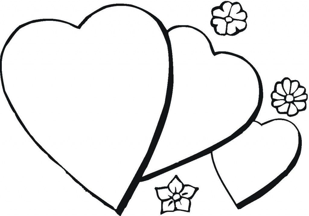 Heart Coloring Pages Valentines Day Coloring Page Valentine