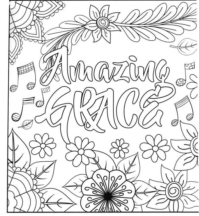 at the cross adult coloring book coloring pages inspired by the words of classic hymns - Christian Coloring Pages Youth