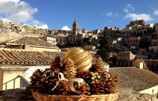 Modica View From Cooking School
