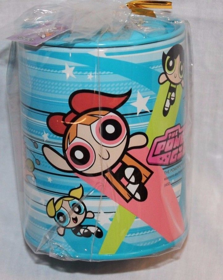 New with Tags Blue Powerpuff Girls Coin Bank | eBay