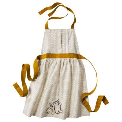 Cute Thanksgiving Apron! Target Threshold™ Kitchen Apron   Gold