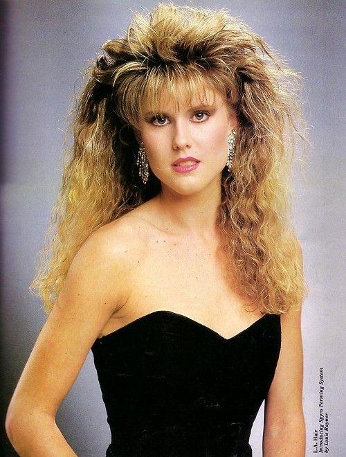 1980s- dramatic makeup