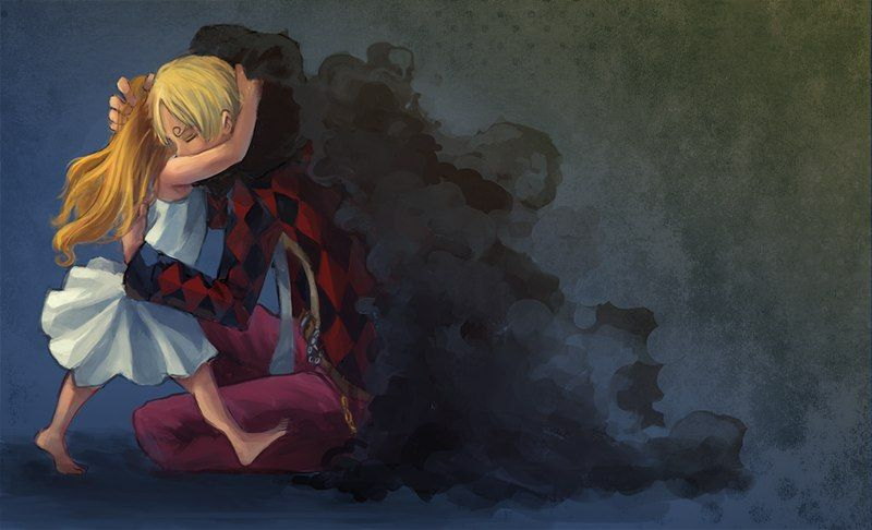 One Piece, Strawhat Pirates, Sanji, Nami