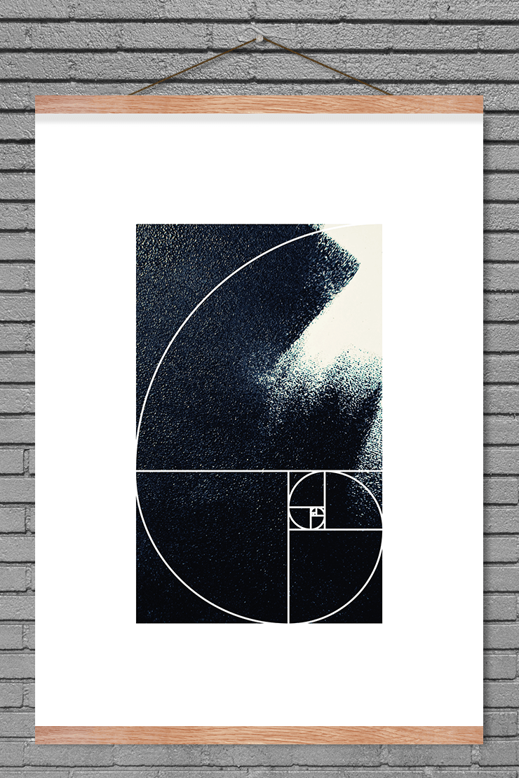The Greek letter Phi represents the golden ratio which appears all over in the…