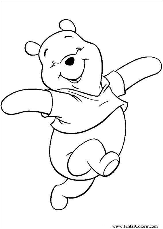 Resultado de imagem para pinterest moldes do urso pooh para apiquer ...