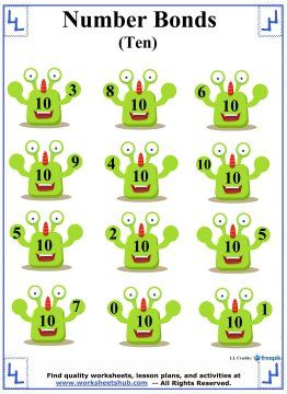 Number Bonds Worksheets moreover Val X additionally B C C Fac D E D in addition Komponenten Des Verdauungssystems X as well Domino Addition And Subtraction. on first grade number bonds worksheets