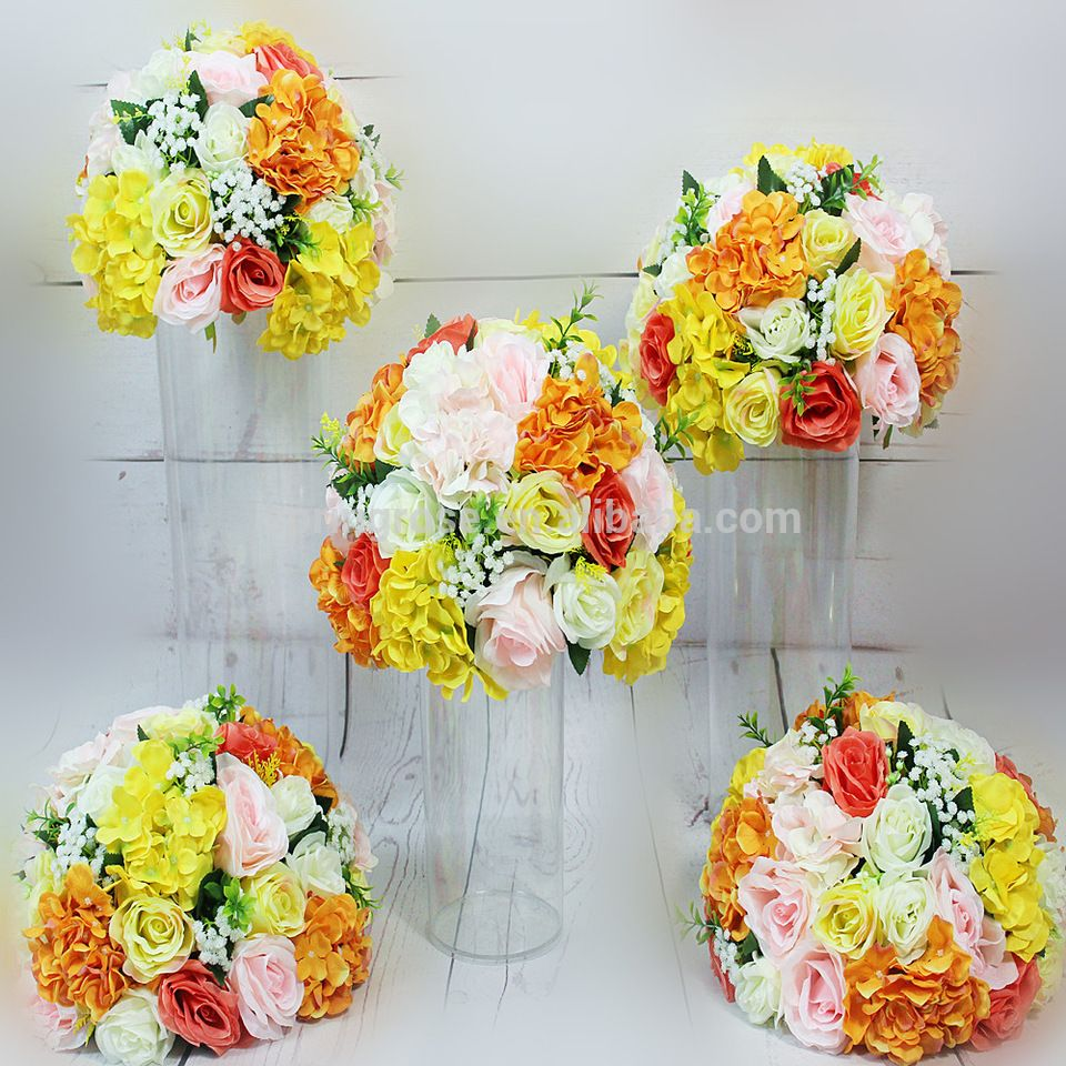 Spr Yellow Orange Good Quality Wholesale Table Centerpiece Flower