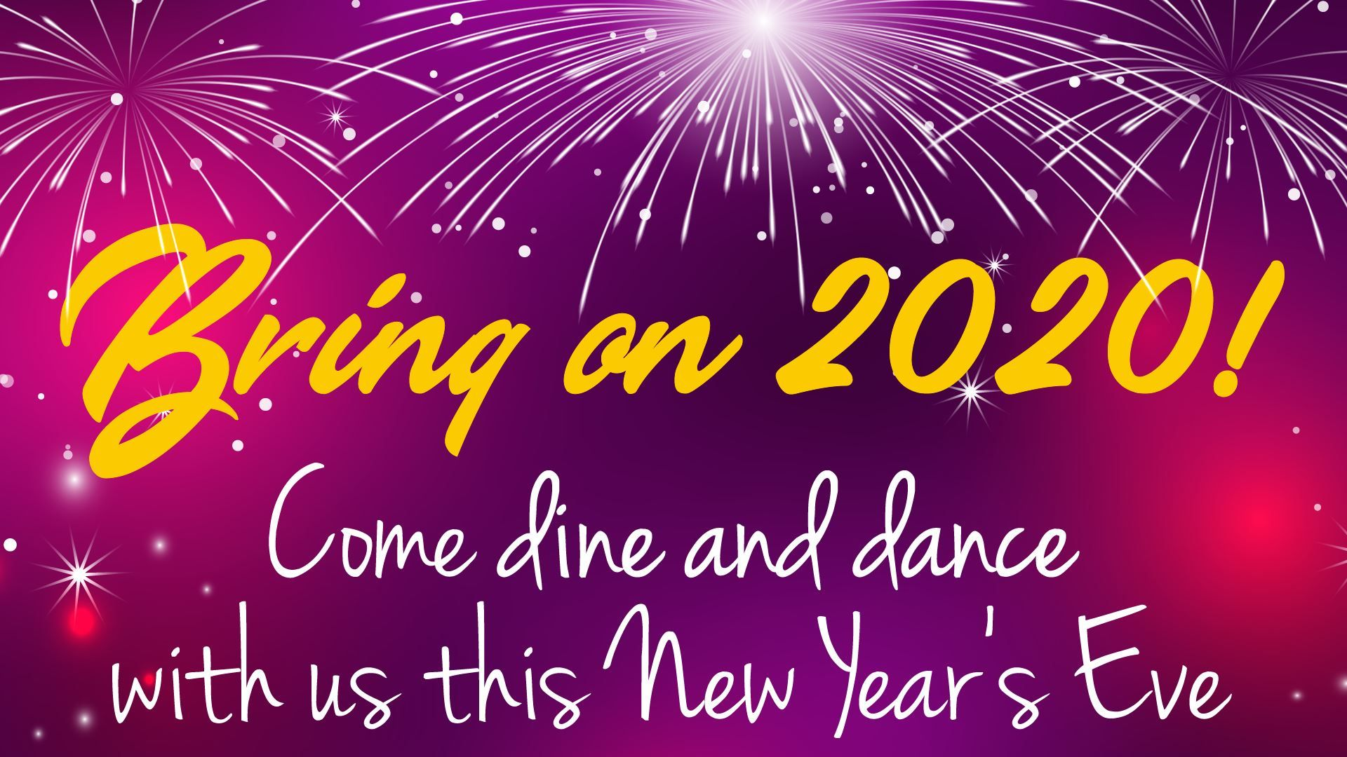 Still looking for something fun to do for New Year? We