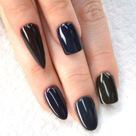 Guide To The Diffe Nail Shapes Tammy Taylor Limited Edition Black Prizma Collection